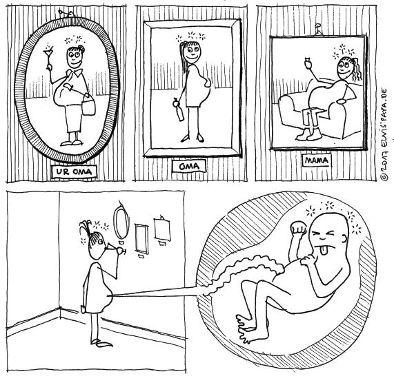 Comic: Dauerbreit