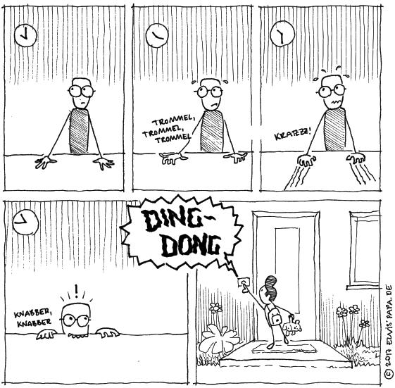 Comic: Ankunft
