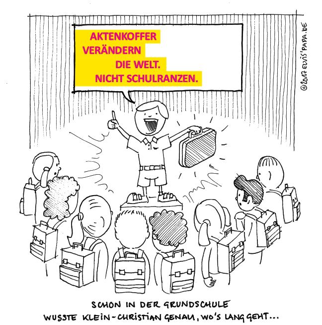 Comic: Wahlkampf