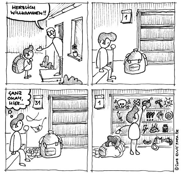 Comic: Rucksack